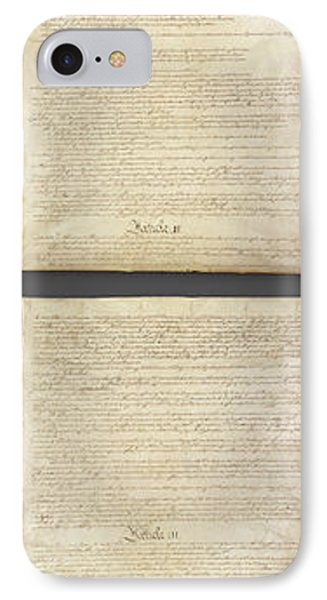 United States Constitution, Usa IPhone Case by Panoramic Images