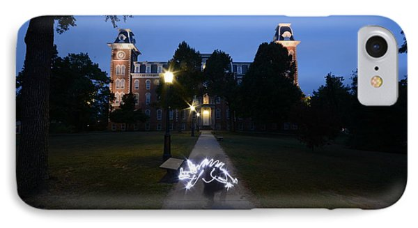 University Of Arkansas IPhone Case by Chris  Look
