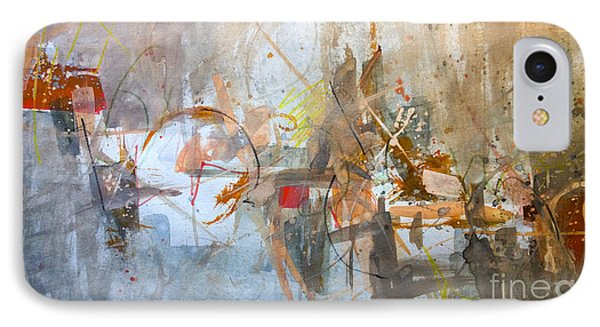 IPhone Case featuring the painting Untitled Abstraction by Robert Anderson