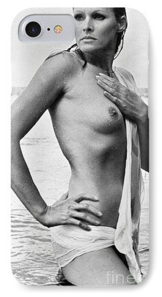 Ursula Andress (b. 1936) Phone Case by Granger