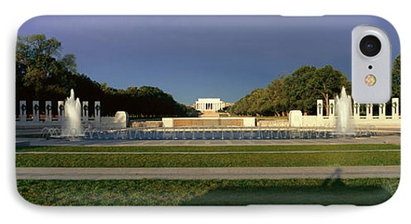 U.s. World War II Memorial IPhone Case by Panoramic Images