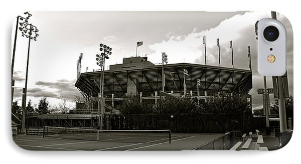 Usta National Tennis Center IPhone Case by Kayme Clark