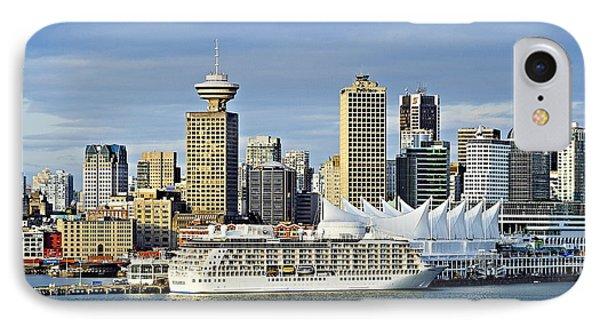 Vancouver Skyline Phone Case by John Greim