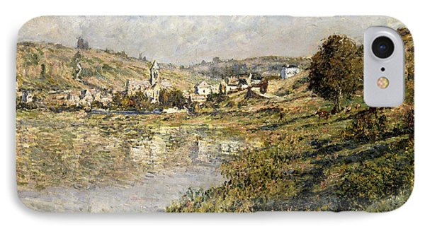 Vetheuil Phone Case by Claude Monet