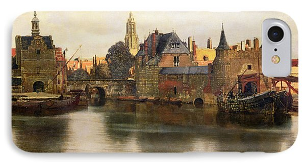 View Of Delft Phone Case by Jan Vermeer