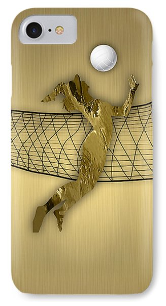 Vollyball Collection IPhone Case by Marvin Blaine