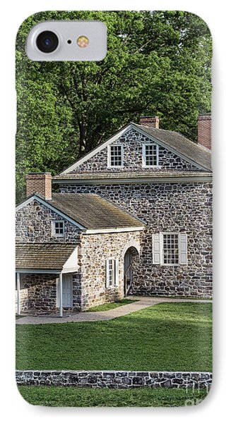 Washington's Headquarters At Valley Forge IPhone Case by John Greim