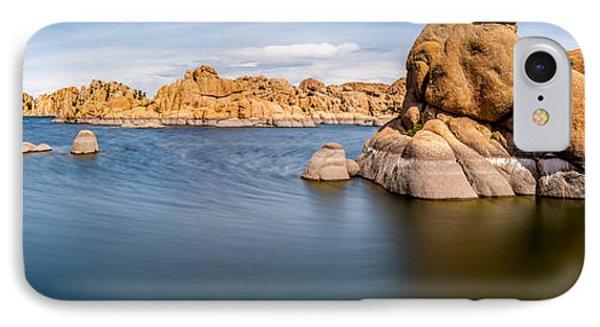 Watson Lake IPhone Case by Jon Manjeot