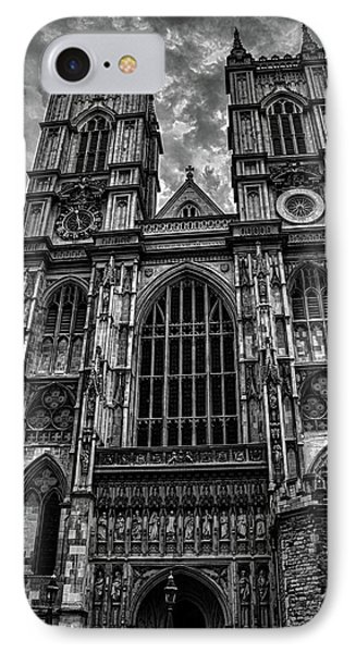 Westminster Abbey IPhone Case by Martin Newman