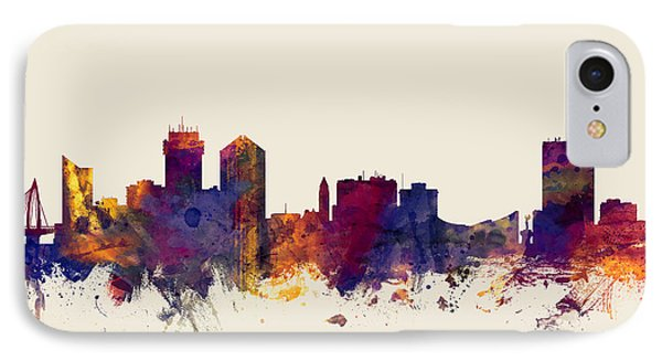 Wichita Kansas Skyline IPhone Case