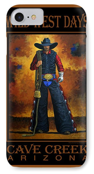 Wild West Days Poster/print  IPhone Case by Lance Headlee