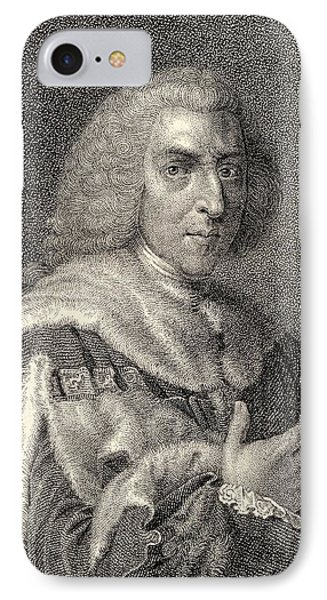 William Pitt The Elder 1st Earl Of IPhone Case by Vintage Design Pics