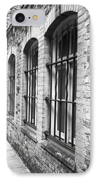 Dungeon iPhone 7 Case - Window Bars by Tom Gowanlock