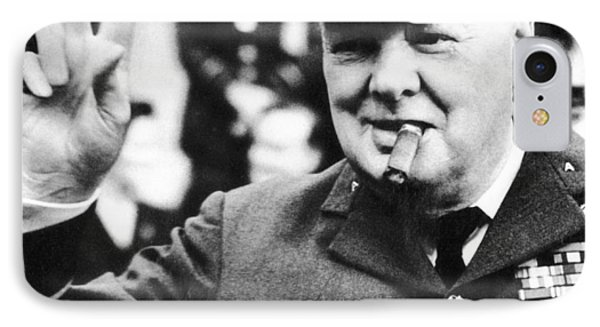 Winston Churchill IPhone Case by English School
