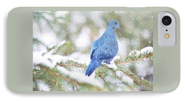 Winter Birds IPhone Case by Jill Wellington