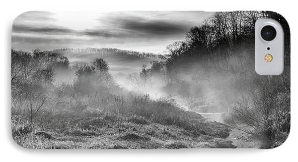 IPhone Case featuring the photograph Winter Mist by Thomas R Fletcher