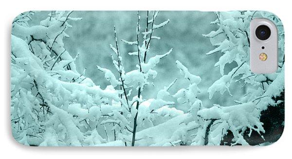 IPhone Case featuring the photograph Winter Wonderland In Switzerland by Susanne Van Hulst