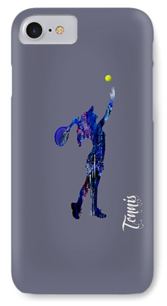 Womens Tennis Collection IPhone Case