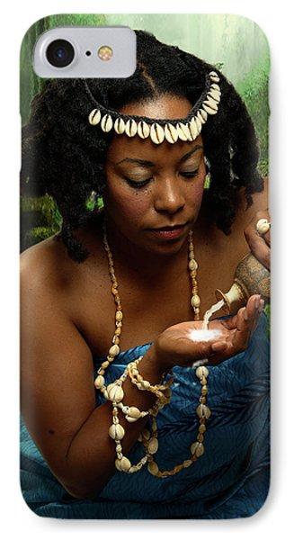 Yemaya IPhone Case by David Clanton