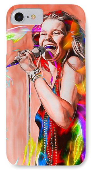 Janis Joplin Collection IPhone Case by Marvin Blaine