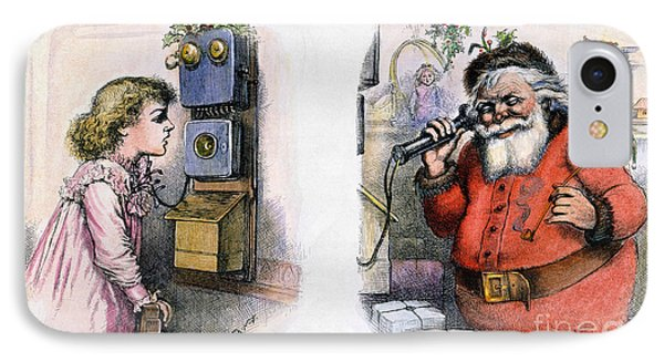 Thomas Nast: Santa Claus Phone Case by Granger