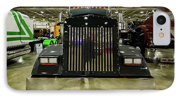 IPhone 7 Case featuring the photograph 2000 Kenworth W900 by Randy Scherkenbach