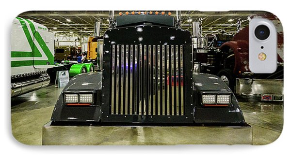 IPhone Case featuring the photograph 2000 Kenworth W900 by Randy Scherkenbach