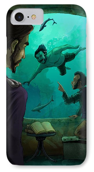 20000 Leagues Under The Sea IPhone Case by Andy Catling