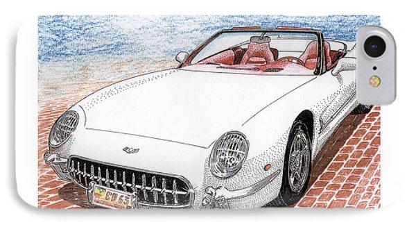 2003 Corvette Prototype IPhone Case by Jack Pumphrey