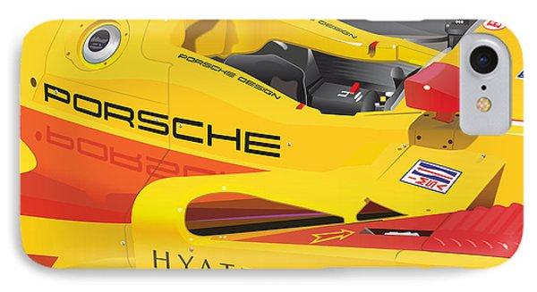 2008 Rs Spyder Illustration IPhone Case by Alain Jamar