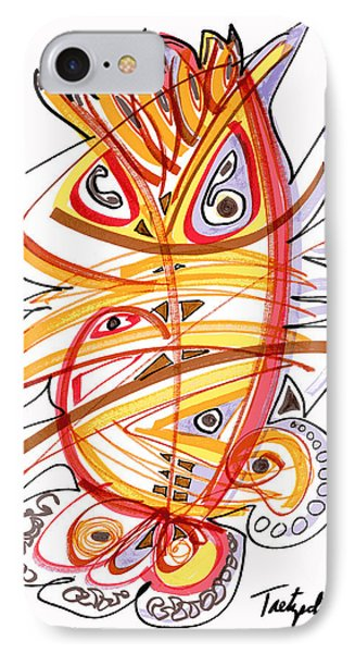 2010 Drawing Three IPhone Case