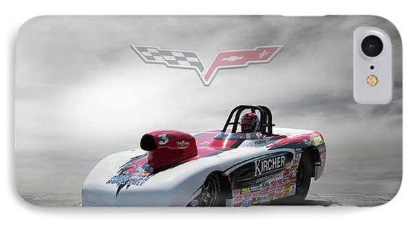 2013 Corvette IPhone Case by Peter Chilelli