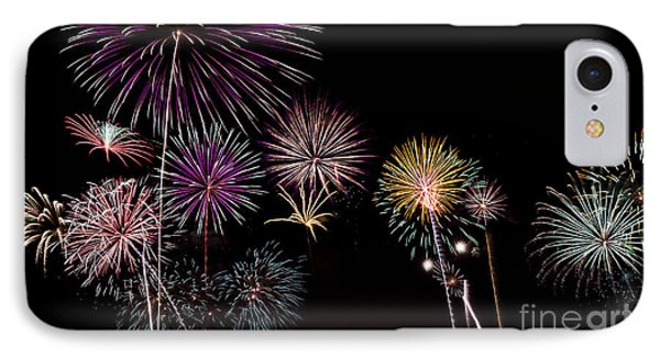 2013 Fireworks Over Alton IPhone Case by Andrea Silies