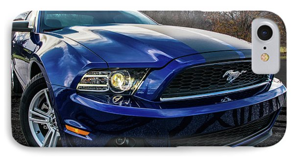 IPhone 7 Case featuring the photograph 2014 Ford Mustang by Randy Scherkenbach