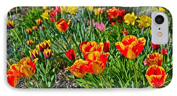 2015 Acewood Tulips 1 IPhone Case by Janis Nussbaum Senungetuk