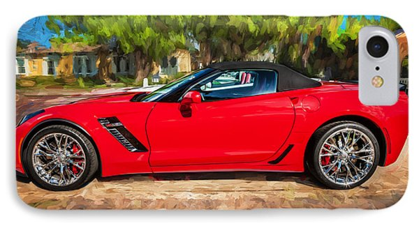 2015 Chevrolet Corvette Zo6 Painted  IPhone Case