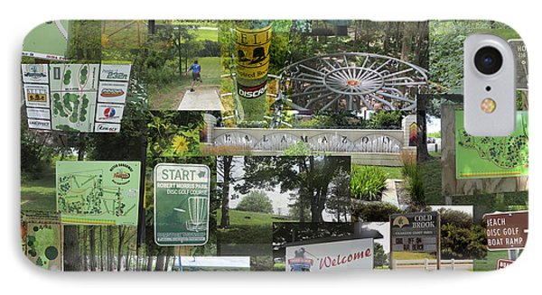 2015 Pdga Amateur Disc Golf World Championships Photo Collage IPhone Case