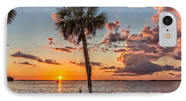 IPhone Case featuring the photograph Sunset Over Lake Eustis by Christopher Holmes
