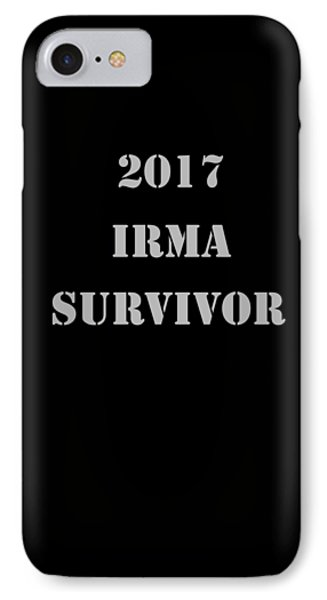 2017 Irma Survivor Phone Case by Judy Hall-Folde