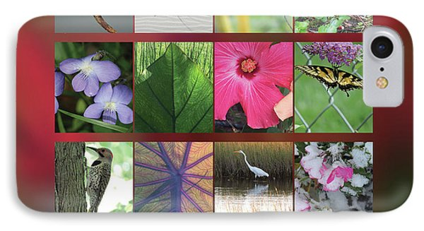 IPhone Case featuring the photograph 2017 Nature Calendar by Peg Toliver