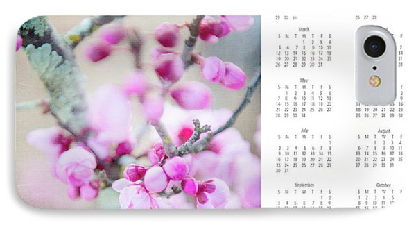 IPhone Case featuring the photograph 2017 Wall Calendar Cherry Blossoms by Ivy Ho
