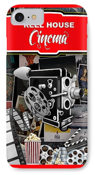 Movie Room Decor Collection IPhone Case