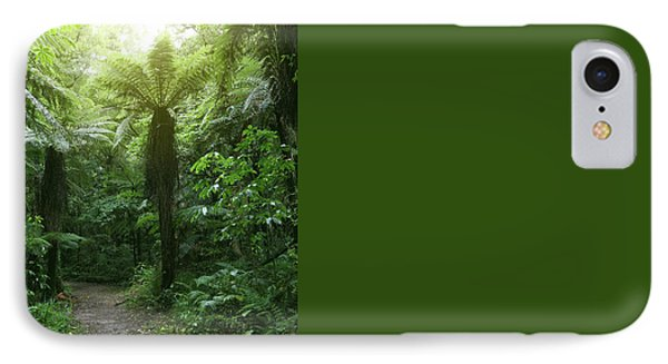 Walking Trail IPhone Case by Les Cunliffe