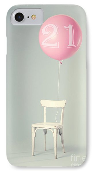 21th Birthday IPhone Case by Edward Fielding
