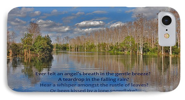 22- An Angel's Breath Phone Case by Joseph Keane