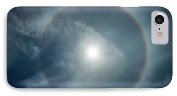 IPhone Case featuring the photograph 22 Degree Solar Halo by William Lee