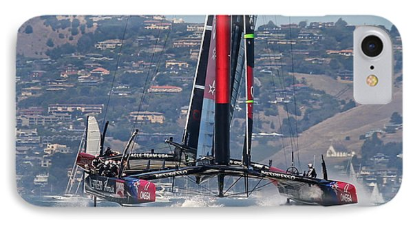 America's Cup San Francisco IPhone Case by Steven Lapkin