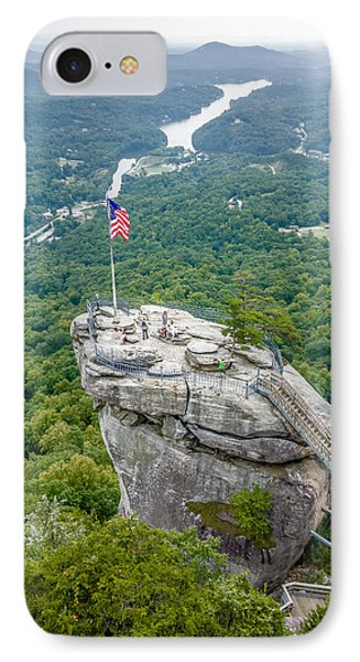 Lake Lure And Chimney Rock Landscapes IPhone Case