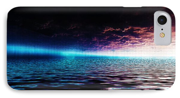 Heavens Waves - Sri Yantra IPhone Case