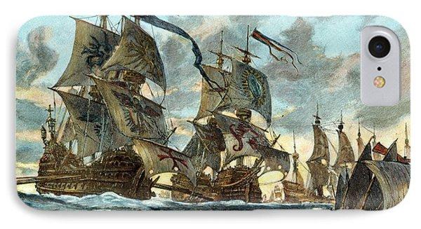 Spanish Armada (1588) Phone Case by Granger